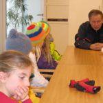 Die Schüler und Schülerinnen der 3. und 4. Stufe besuchten das Gemeindeamt in Kleinarl und bedanken sich ganz herzlich bei Hansi Schaidreiter, Rupert Höller ... - img_3355